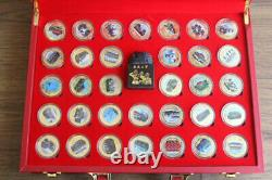 70Th Anniversary Establishment Chinese People's parade Commemorate Badge Coins