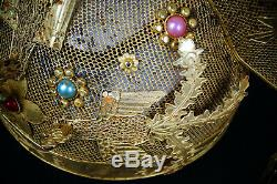 A Fine Collection Chinese 15thC Ming PURE Solid Gold and Silver Phoenix Coronet