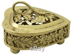 Antique Chinese Export Silver Gilt Potpourri Boxes Circa 1870