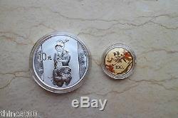 China 2015 Gold and Silver Coins Set-Modern Chinese Painting Master Xu Beihong