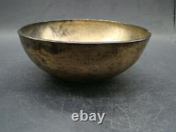 Chinese Tang Dynasty (618-907) rare silver gilt bronze monk's alms bowl w6733