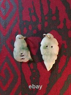 Jewelry Lot For Craft Or Repair 14k Gold Chinese Carved Jade 925 Silver Pearls