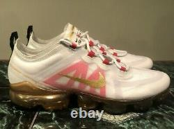 Nike Air Vapormax 2019 CNY Chinese New Year Shoes Gold Size 9.5 BQ7038-001