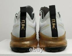 Nike Air Vapormax Chinese New Year Pure Platinum Gold Bq7038-001 Mens 8.5 No LID