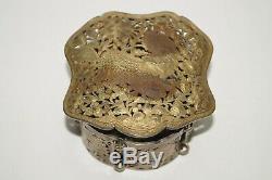 Straits Chinese Peranakan Nyonya Baba Gold gilt Silver belt