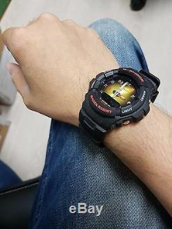 Vintage G-Shock G-100BT Army Matte Black Gold Face Zodiac Chinese 12Beasts Limtd