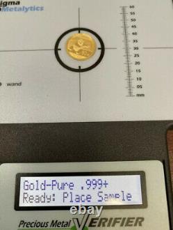 1/10 Oz 2014 Gold Chinese Panda Coin