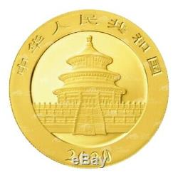 30 Grammes 2020 Chinois Panda Gold Coin