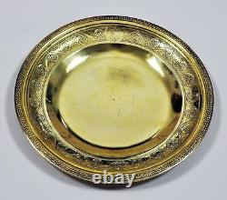 746 Grammes Museum Quality Rare Paire Plaques Vermeil Chinois Export Gold On Silver