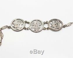 Antique Chinois D'exportation Vermeil Cornaline Collier Bracelet