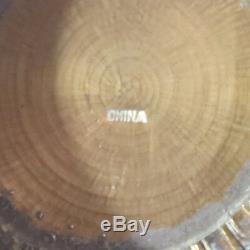 Antique Chinois Repousse Laiton, Cuivre Et Argent Encens Ou Boîte Cricket