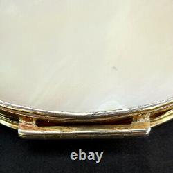 Antique Georgian Sterling Argent Gilt-de-pearl Snuff Chinese Export C1820