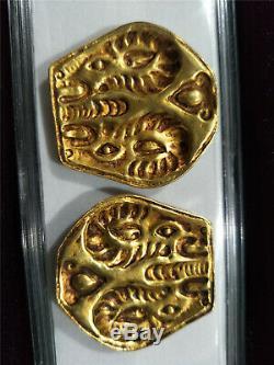 Argent Doré Chinois Jeton De Indépen Dynastie De Bronze Motif De Bête Jetons 3 #