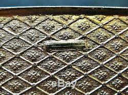 Boîte À Bijoux Antique En Bronze Bronze Doré, Début 20ème