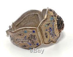 Bracelet Grand Exportateur Chinois En Vermeil