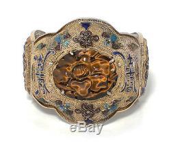 Bracelet Grand Exportateur Chinois En Vermeil Et Bijoux De Chine