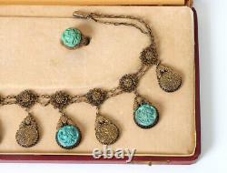 Chine Export Argent-gilt Lapis Bracelet Lazuli Bijoux Chine