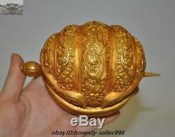 Chinese Palace Silver Doré Or 24k Royal Chapeau Funéraire Chapeaux Bonnet Épingle À Cheveux