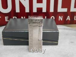 Dunhill Rollagas Gaz Léger Or Argent Modèle Chinois Miroir Finition Complète