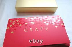 Graff 2019 Paquet Rouge Pour L'argent D'or Nouvelle Année Diamant Chinois 18k Collier Anneau
