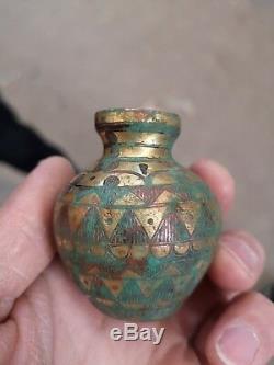 Pot À Vin En Bronze Doré De Chine En Bronze Doré