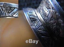 Qing Agate Chinoise Tabatière Corail Argent Or Maquet Striker Briquet 1800