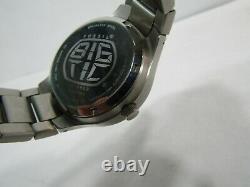 Rare Men's Fossil Jr7997 Chinois Asiatique Kanji Analog/digital Dragon Watch