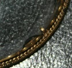 République Chinoise Carved Jade Openwork Manipulé Loupe Gilt Argent