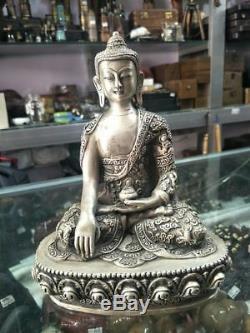 Statue Bouddhiste Tibétaine En Bronze Doré À La Chinoise - Dari Rulai Buddha