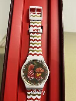Swatch Chinese New Year Woof Dog Watch 2018 Special Edition Nouveau Dans La Boîte