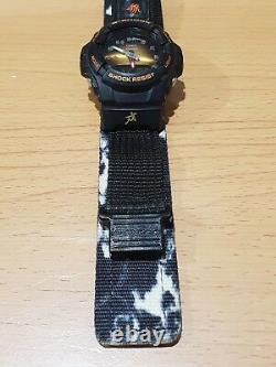 Vintage G-shock G-100bt Gold Face Zodiac Chinese 12beast Camo Cloth Band Limited